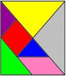 15tangram 130x150 Juego de Percepción visual: El Tangram tamgran Razonamiento lógico espacial Percepción visual Percepción de figura y fondo Orientación espacial memoria visual Estructuración espacial estimular niño estimulacion Coordinación visomotora atencion