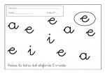 16grafomotricidad letra e 150x105 Grafomotricidad: Trabajar la letra E recursos maestro recursos aula preescritura maestro grafomotricidad de letras grafomotricidad fichas grafo