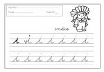 18grafomotricidad letra i 150x105 Grafomotricidad con la letra I trazos recursos problemas educativos letras para escribir grafomotricidad familia escritura educacion infantil dibujos colorear actividades niños