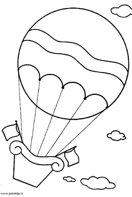 Medios de transporte aereos para colorear globo - Imagui