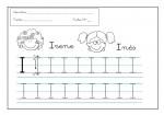 20grafomotricidad letra i 150x105 Grafomotricidad con la letra I trazos recursos problemas educativos letras para escribir grafomotricidad familia escritura educacion infantil dibujos colorear actividades niños