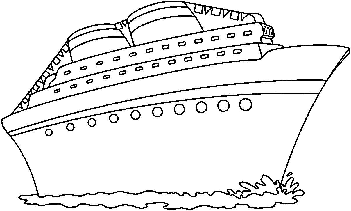 Transportes Por Tierra Para Colorear: Dibujos De Transportes Para Colorear: Por Mar Van