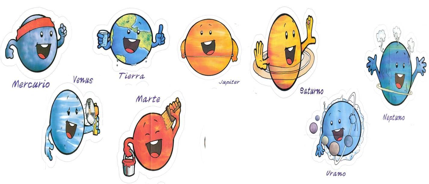 Imagen Ideal Para Un Trabajo Individual Sobre El Sistema Solar Marilu