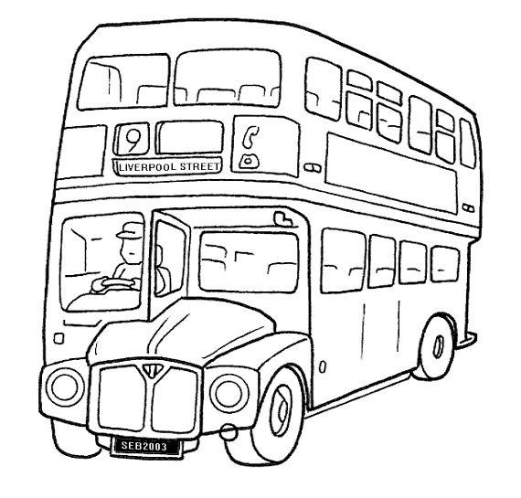 Laminas De Autobus Para Colorear E Imprimir Imagui