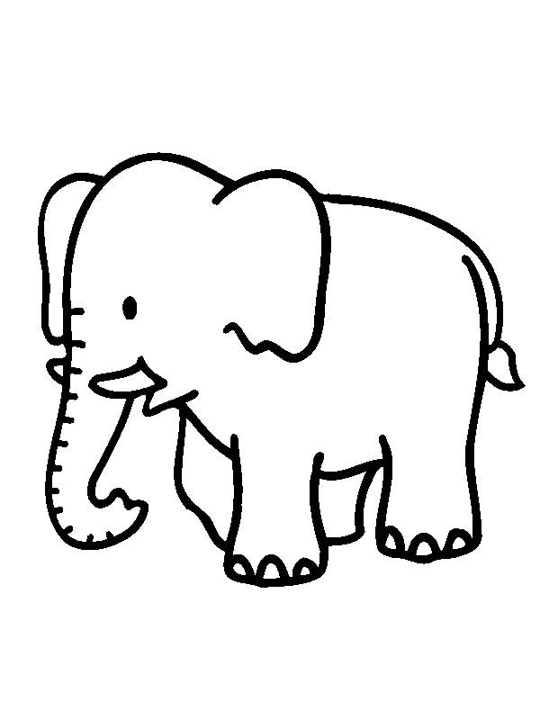Increíble Colorear Animales De La Jungla De Bebé Colección - Páginas ...