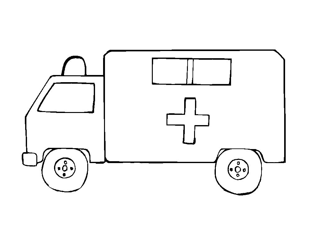 Transportes por tierra para colorear - Escuela en la nube