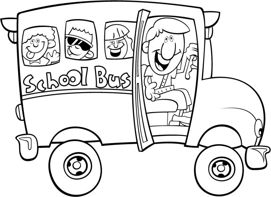 Transportes Por Tierra Para Colorear Escuela En La Nube