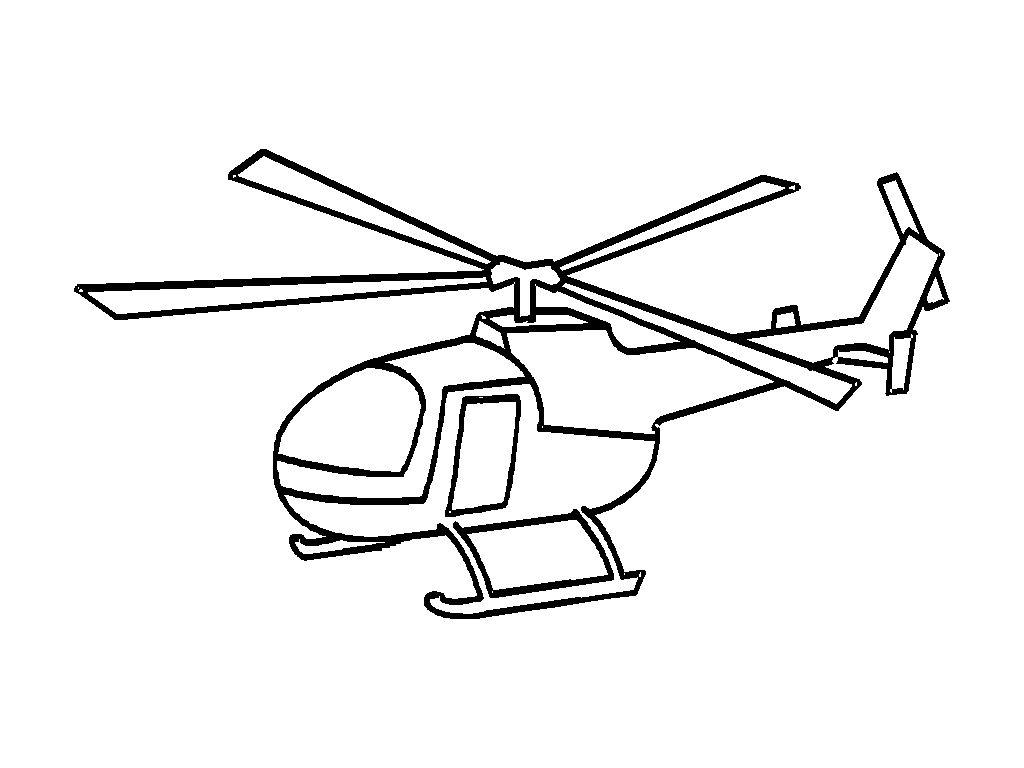 Excelente Helicóptero Para Colorear Para Imprimir Modelo - Dibujos ...