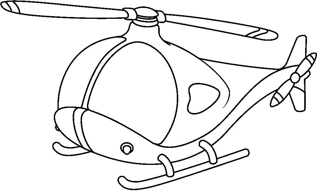 Increíble Transporte Aéreo Para Colorear Festooning - Dibujos Para ...
