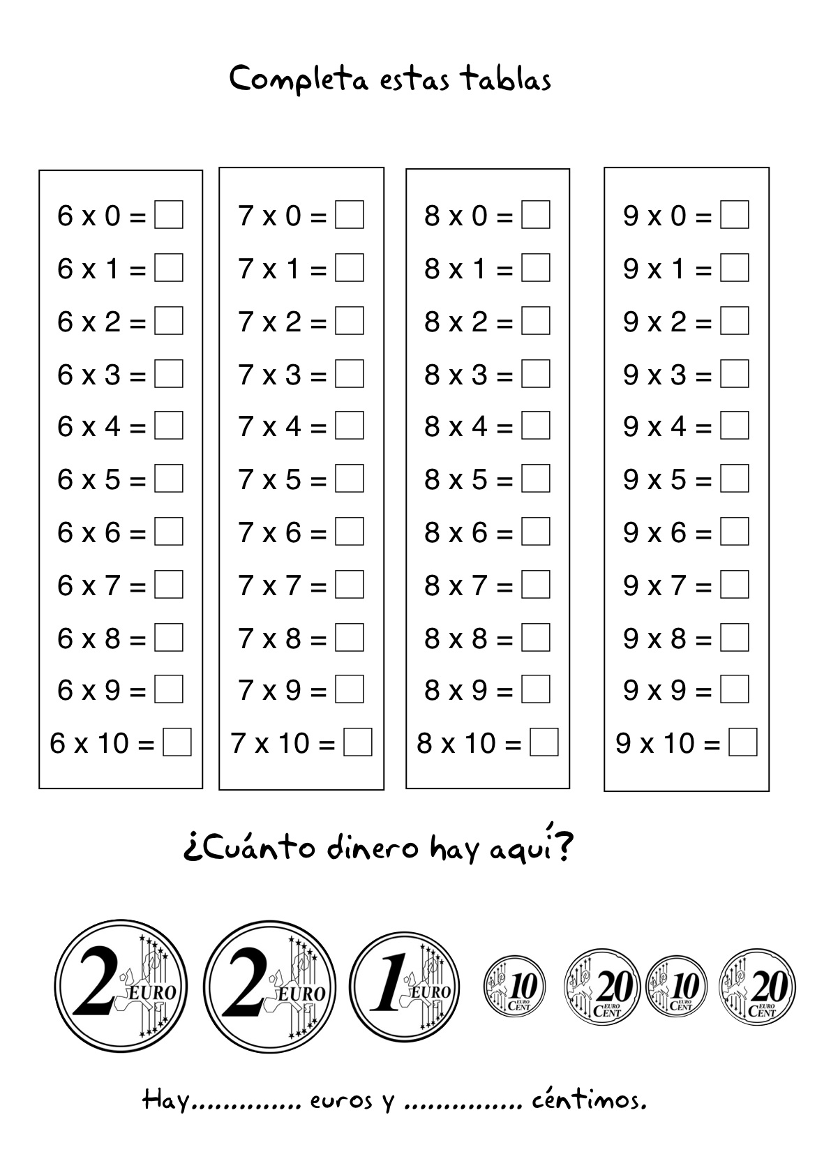 Resultado de imagen para multiplicacion ejercicios