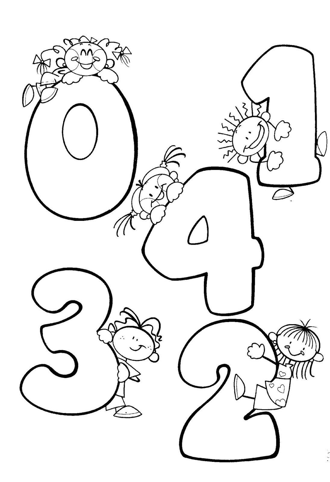 Dibujos Para Colorear Para Pre Escolar