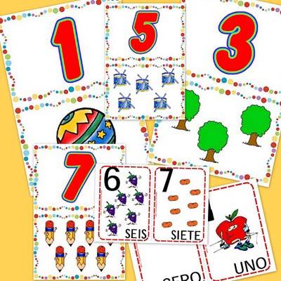 cartas y números