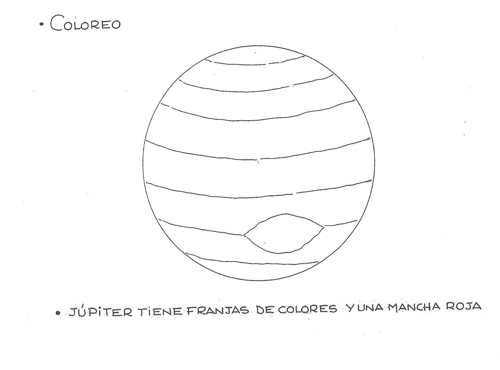 Dibujos De Planetas Para Colorear. Amazing Dibujos De Planetas Para ...