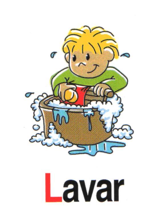 escuelaenlanube com fichas-de-acciones-cotidianas-escritas lavar-2Lavar