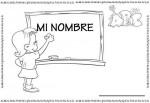 Fichas para trabajar el nombre del alumno/a