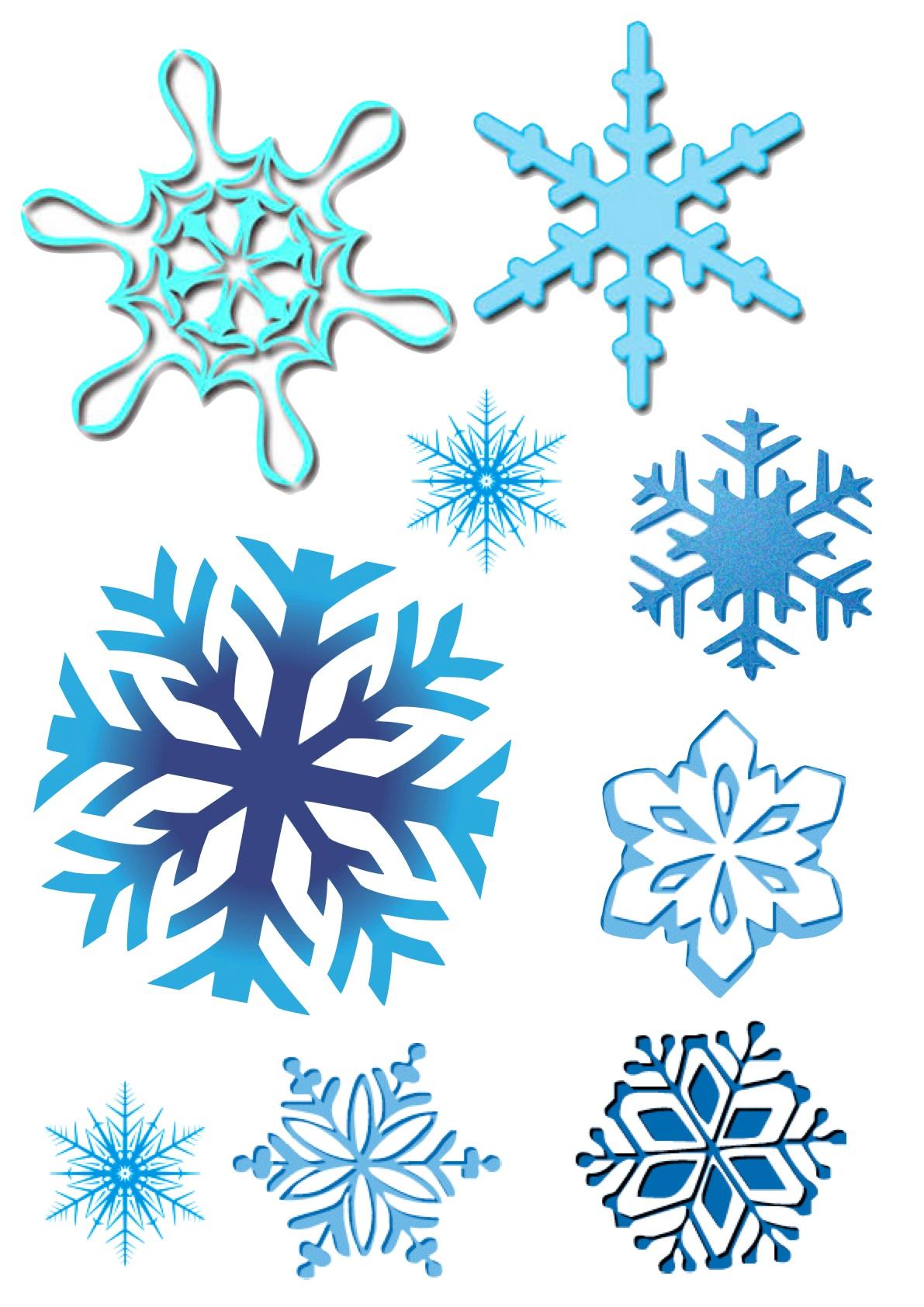 Copos de nieve imagui for Estrella de nieve