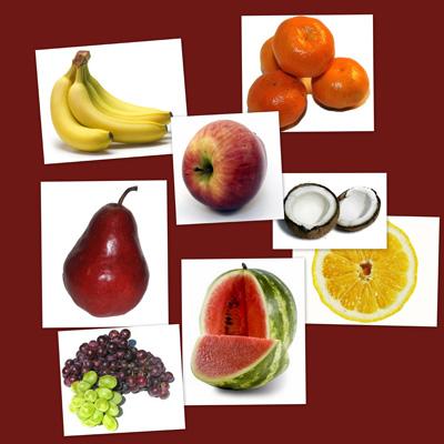 bits de inteligencia, frutas, fichas de frutas, recursos para el aula, recursos para el maestro