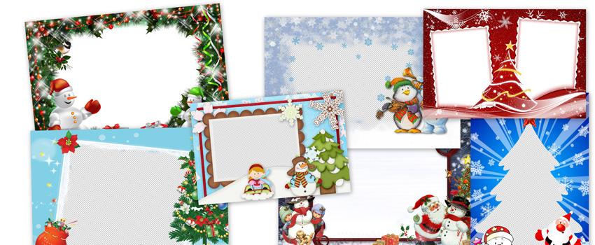Felicitaciones De Navidad Para Infantil.Marcos Navidenos Para Felicitar
