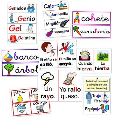 dificultades ortograficas, letras, lectura, lengua, fichas de lengua, ejercicios de lengua