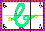 b 150x105 Recursos para el aula: Puzzle de letras recursos para el aula recursos maestros recursos didacticos letras lengua escuela en la nube educacion infantil blog educativo aprender abecedario abecedario