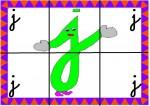 j 150x106 Recursos para el aula: Puzzle de letras recursos para el aula recursos maestros recursos didacticos letras lengua escuela en la nube educacion infantil blog educativo aprender abecedario abecedario