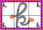 k 150x105 Recursos para el aula: Puzzle de letras recursos para el aula recursos maestros recursos didacticos letras lengua escuela en la nube educacion infantil blog educativo aprender abecedario abecedario