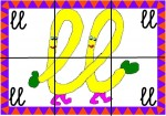 ll 150x105 Recursos para el aula: Puzzle de letras recursos para el aula recursos maestros recursos didacticos letras lengua escuela en la nube educacion infantil blog educativo aprender abecedario abecedario