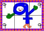 q 150x105 Recursos para el aula: Puzzle de letras recursos para el aula recursos maestros recursos didacticos letras lengua escuela en la nube educacion infantil blog educativo aprender abecedario abecedario
