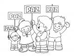 03colorearPaz 150x113 Recursos educativos: Dibujos para colorear en el día de la Paz recursos para maestros recursos para el aula RECURSOS EDUCATIVOS recursos didacticos educacion infantil dibujos para colorear dia de la paz colorear la paz blog educativo actividades dia de la paz