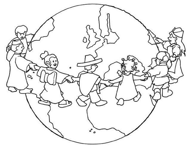 Recursos Educativos: Dibujos Para Colorear En El Día De