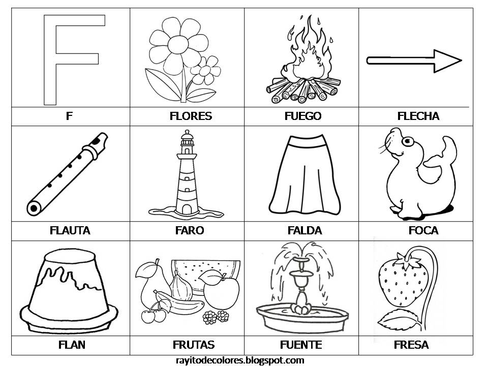Vocabulario, Abecedario, letras, repasar abecedario, aprender vocabulario