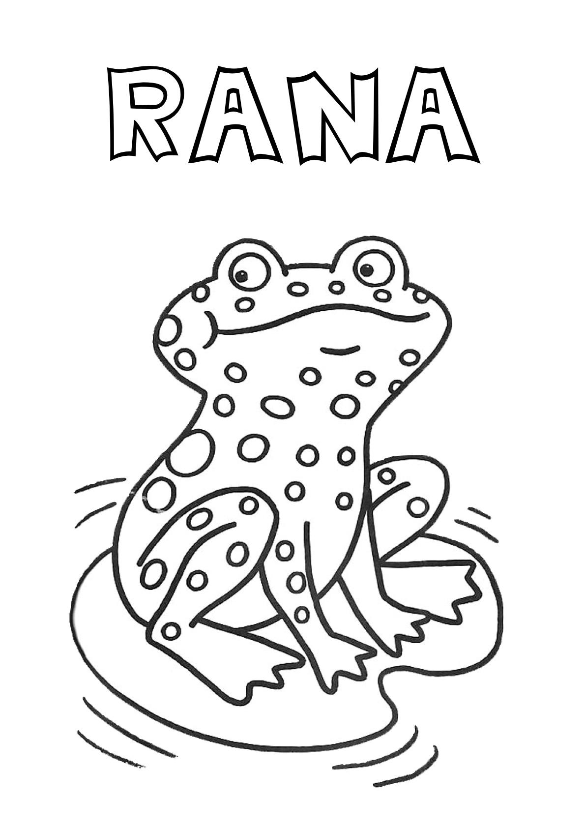 Recursos para el aula: Fichas de animales para colorear