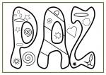 Recursos educativos: Dibujos para colorear en el día de la Paz recursos para maestros recursos para el aula RECURSOS EDUCATIVOS recursos didacticos educacion infantil dibujos para colorear dia de la paz colorear la paz blog educativo actividades dia de la paz