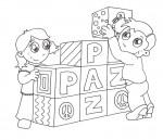 22colorearPaz 150x129 Recursos educativos: Dibujos para colorear en el día de la Paz recursos para maestros recursos para el aula RECURSOS EDUCATIVOS recursos didacticos educacion infantil dibujos para colorear dia de la paz colorear la paz blog educativo actividades dia de la paz
