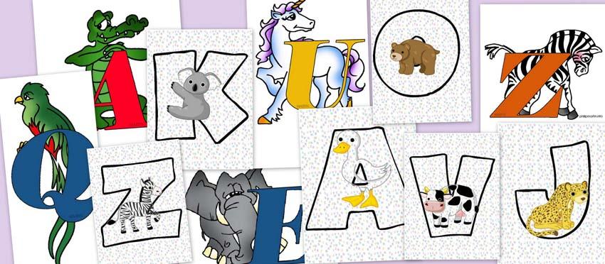 letras, animales, abecedario