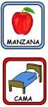 MANZANA CAMA 68x150 Recursos para el Maestro: Fichas para mejorar el vocabulario vocabulario recursos para maestros recursos para el aula RECURSOS EDUCATIVOS recursos didacticos letras lenguaje leer lectura hablar escuela en la nube educacion infantil blog educativo
