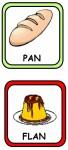 PAN FLAN 68x150 Recursos para el Maestro: Fichas para mejorar el vocabulario vocabulario recursos para maestros recursos para el aula RECURSOS EDUCATIVOS recursos didacticos letras lenguaje leer lectura hablar escuela en la nube educacion infantil blog educativo