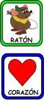 RATON CORAZON 67x150 Recursos para el Maestro: Fichas para mejorar el vocabulario vocabulario recursos para maestros recursos para el aula RECURSOS EDUCATIVOS recursos didacticos letras lenguaje leer lectura hablar escuela en la nube educacion infantil blog educativo