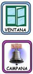 VENTANA CAMPANA 68x150 Recursos para el Maestro: Fichas para mejorar el vocabulario vocabulario recursos para maestros recursos para el aula RECURSOS EDUCATIVOS recursos didacticos letras lenguaje leer lectura hablar escuela en la nube educacion infantil blog educativo