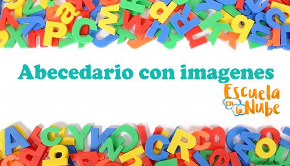 ▷ Abecedario con imágenes para niños. Recursos para el aula