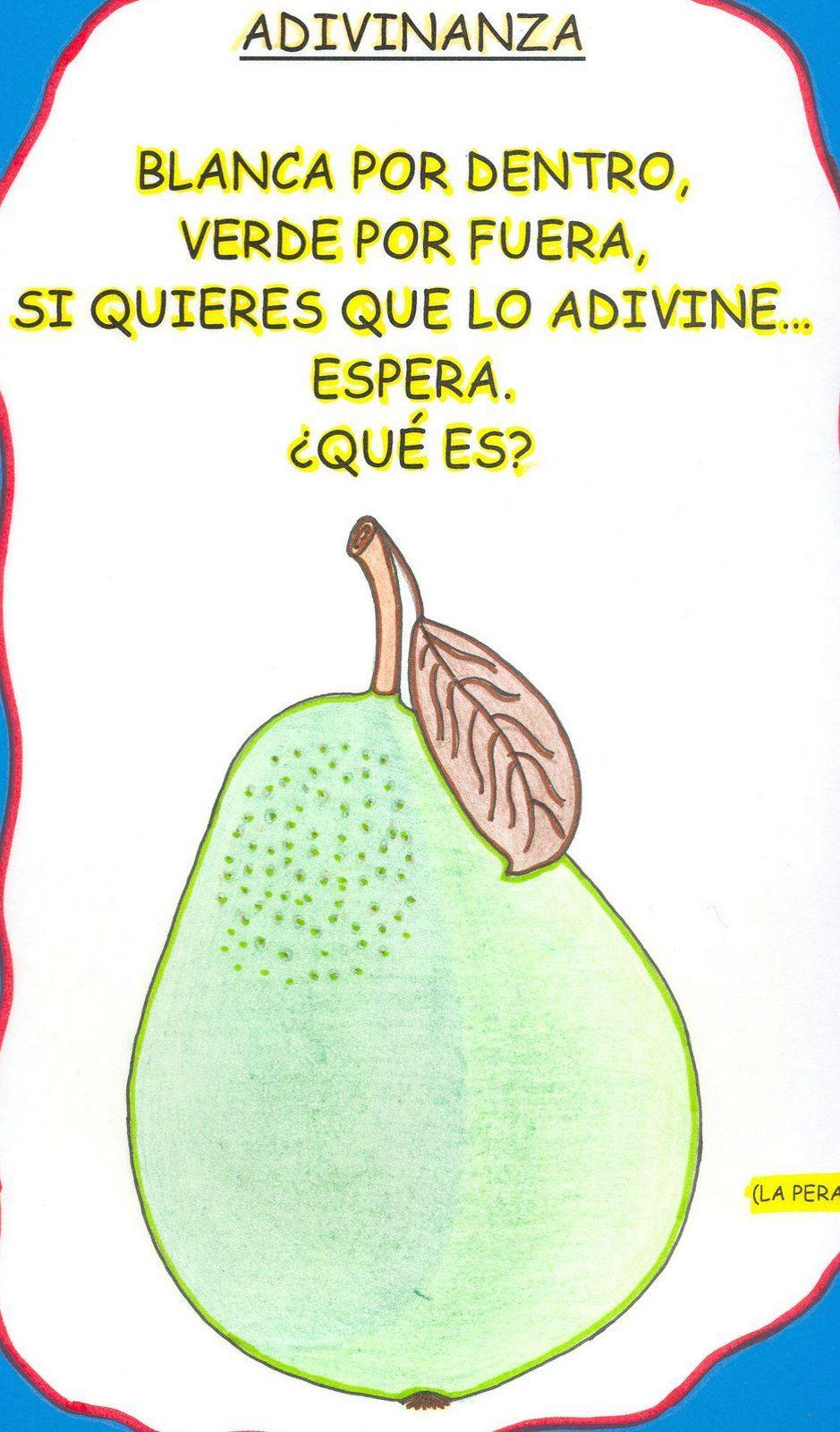 Adivinanzas en Espanol Para Ninos Adivinanzas Para ni os Esta