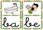 ba be 150x107 Tarjetas silábicas para trabajar en Educación Infantil vocabulario silabas recursos para maestros recursos para el aula RECURSOS EDUCATIVOS recursos didacticos letras leer lectura fichas de lengua escuela en la nube educacion infantil blog educativo aprender a leer