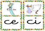 ce ci 150x105 Tarjetas silábicas para trabajar en Educación Infantil vocabulario silabas recursos para maestros recursos para el aula RECURSOS EDUCATIVOS recursos didacticos letras leer lectura fichas de lengua escuela en la nube educacion infantil blog educativo aprender a leer