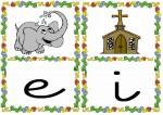 e i 150x106 Tarjetas silábicas para trabajar en Educación Infantil vocabulario silabas recursos para maestros recursos para el aula RECURSOS EDUCATIVOS recursos didacticos letras leer lectura fichas de lengua escuela en la nube educacion infantil blog educativo aprender a leer