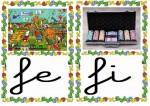feria ficha 150x106 Tarjetas silábicas para trabajar en Educación Infantil vocabulario silabas recursos para maestros recursos para el aula RECURSOS EDUCATIVOS recursos didacticos letras leer lectura fichas de lengua escuela en la nube educacion infantil blog educativo aprender a leer