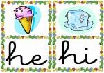 he hi 150x106 Tarjetas silábicas para trabajar en Educación Infantil vocabulario silabas recursos para maestros recursos para el aula RECURSOS EDUCATIVOS recursos didacticos letras leer lectura fichas de lengua escuela en la nube educacion infantil blog educativo aprender a leer