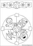 mandala 49 107x150 Mandalas infantiles para trabajar la atención recursos para maestros recursos para el aula RECURSOS EDUCATIVOS recursos didacticos mandalas para colorear escuela en la nube educacion infantil dibujos para colorear Creatividad blog educativo atencion