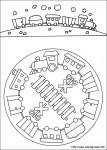 mandala 60 107x150 Mandalas infantiles para trabajar la atención recursos para maestros recursos para el aula RECURSOS EDUCATIVOS recursos didacticos mandalas para colorear escuela en la nube educacion infantil dibujos para colorear Creatividad blog educativo atencion
