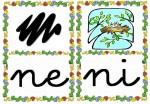 ne ni 150x104 Tarjetas silábicas para trabajar en Educación Infantil vocabulario silabas recursos para maestros recursos para el aula RECURSOS EDUCATIVOS recursos didacticos letras leer lectura fichas de lengua escuela en la nube educacion infantil blog educativo aprender a leer