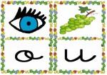 o u 150x106 Tarjetas silábicas para trabajar en Educación Infantil vocabulario silabas recursos para maestros recursos para el aula RECURSOS EDUCATIVOS recursos didacticos letras leer lectura fichas de lengua escuela en la nube educacion infantil blog educativo aprender a leer
